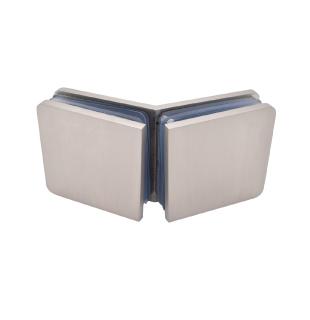 Satin finish 2 sided installation Shower panel fitting kit