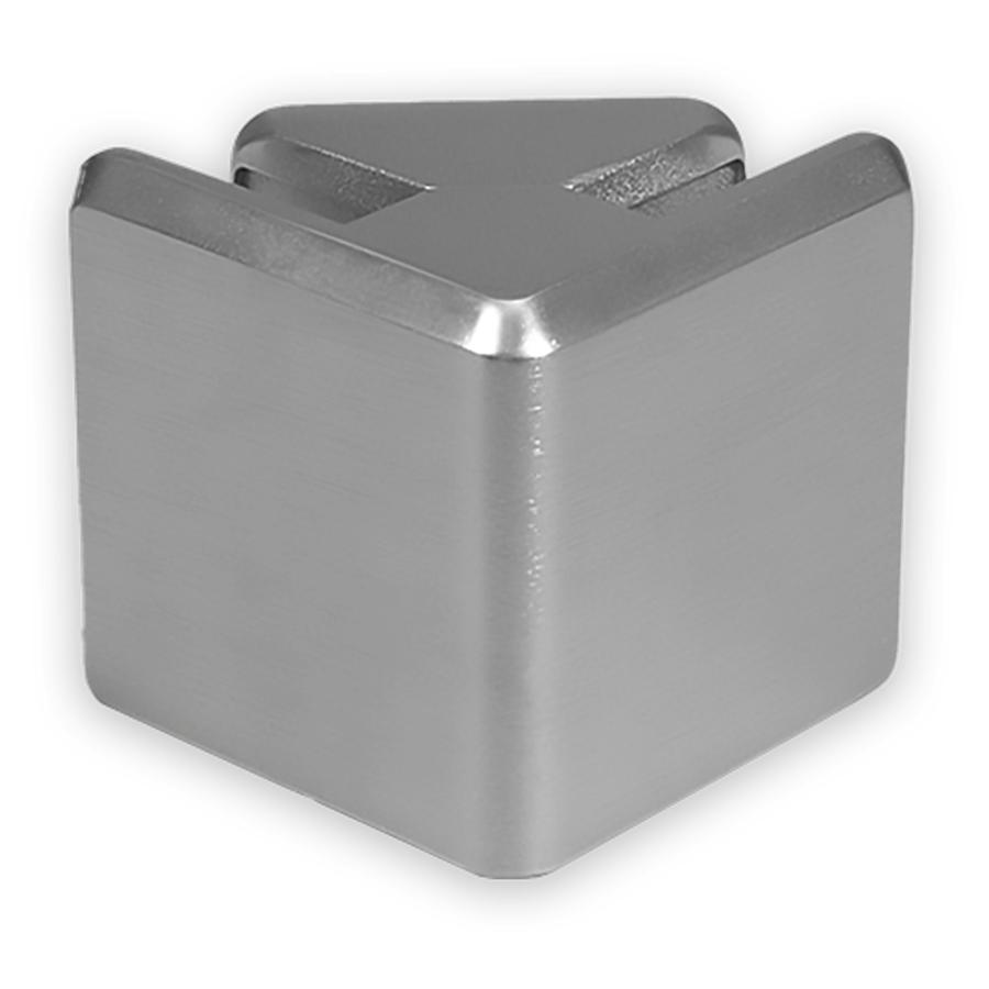 Aluminium Glass Panel Connector Corner Clamp
