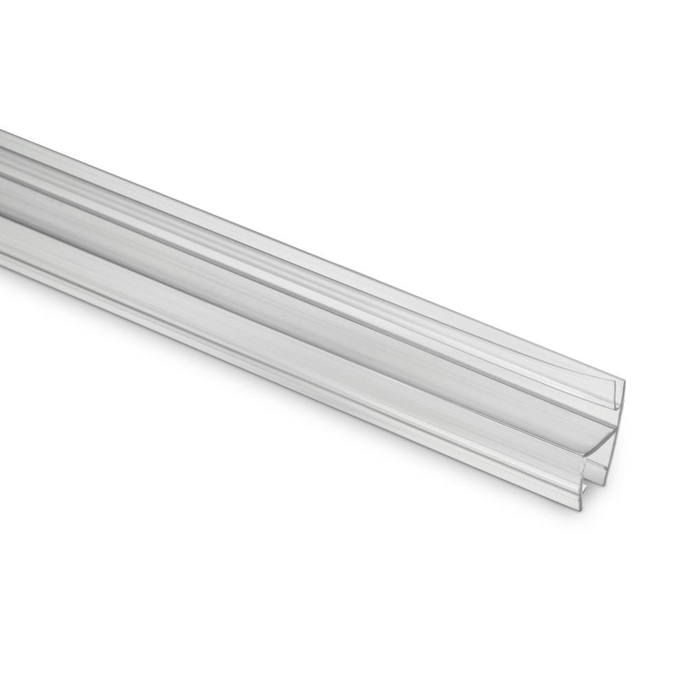 H Jamb Seal 10mm Glass 9mm Hard Fin
